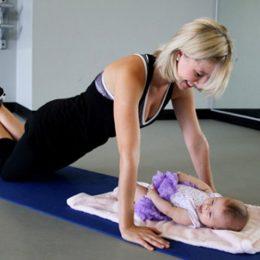Как подтянуть грудь после родов?
