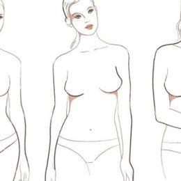 Формы женской груди: фото, виды, особенности строения